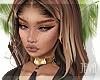 -J- Hacilo golden brown