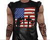 Memorial Leather Shirt M