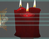 Valentine Red Candles
