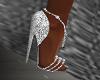 FG~ Gia Silver Heels