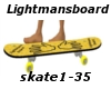 SkateBoard with 35 trigg