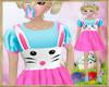 ~H~Kid Bunny 1A Dress