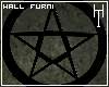 Black Pentagram Wall