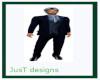 JT Dk Blue Suit