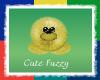 Yellow Cute Fuzzy