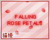 `N Falling Rose Petals