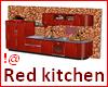 !@ Red kitchen