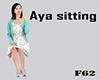Aya sitting