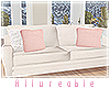 A* Blush Xmas Loveseat