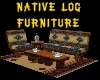 (S)Native Log Furniture