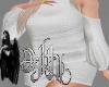 sweater dress white XL