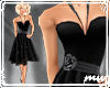 !50s Party Dress Black