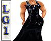 LG1 Black Sequin RL