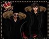 llKNZ*F Parka Black/Fur