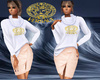 versace skirt&pull