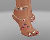 4th Of July Feet & Tats