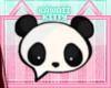😻 Panda Headsign