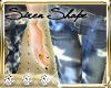 $$$ Bleached Jeans S