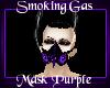-A- Smoking Mask Purple