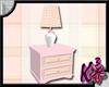 Pink Plaid Nightstand