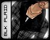 .::.Plaid Jacket-[Black
