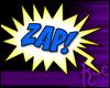 R: Comic ZAP! Sticker