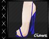 ☪ Thalia Blue Heels