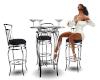 Club Table Chrome
