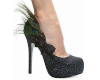 Feathered heels