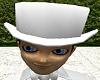 Pure White Top Hat