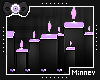 ► Pastel goth candles