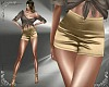 T- Silk Shorts gold RLS
