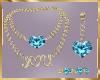 C12 Teal Jewelry Set