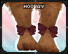 !H! Wine ankle bows