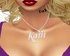 Custom Name Chain Kaiii