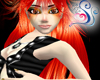 Fire Red Shana Hair