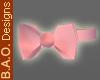 BAO Pink Bow Tie