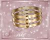 !SG Gold Love Collar