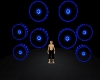 BLUE SPEAKER DJ LIGHTS