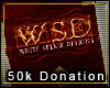 Whiteselkie Donation 50k