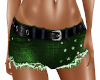 Shorts Jeans Hot Green