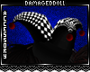 *DD* Harlequin Hat
