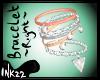 Peach Diamond Bracelet R