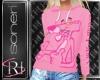 Pink Panther  F hoodie