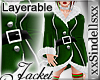*Christmas* Jacket Green