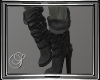(SL) Slouch Boots Gray