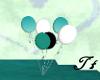 Wedding balloons Teal