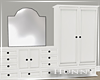 H. Luxury Dresser White