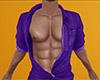 Purple Open Den Shirt M