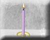 [K] Purple Advent Candle